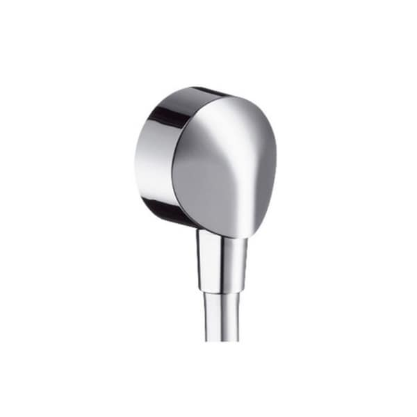 Shop Hansgrohe Wall Outlet with Dual Check Valve Chrome - Free ...
