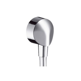 Hansgrohe Wall Outlet with Dual Check Valve Chrome