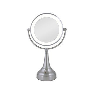 Zadro Cordless Dual-sided LED Lighted Round Vanity Mirror