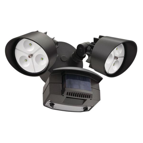 Lithonia Outdoor Led Flood Lights: Lithonia Lighting OFLR 6LC 120 MO BZ LED Outdoor Black