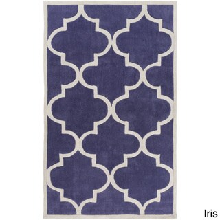 Artfully Crafted Mya Geometric Polyester Area Rug-(3'6 x 5'6)