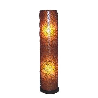 Holliday Tribal Moroccan Transitional Brown Indoor Floor Lamp