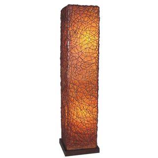 Hays Tribal Moroccan Transitional Brown Indoor Floor Lamp