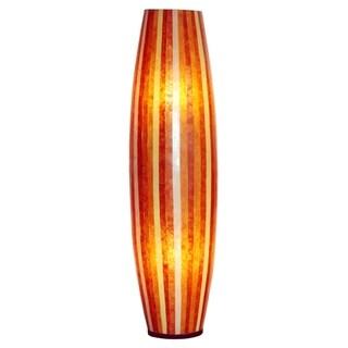 Cooper Modern Sleek Transitional Brown Indoor Floor Lamp