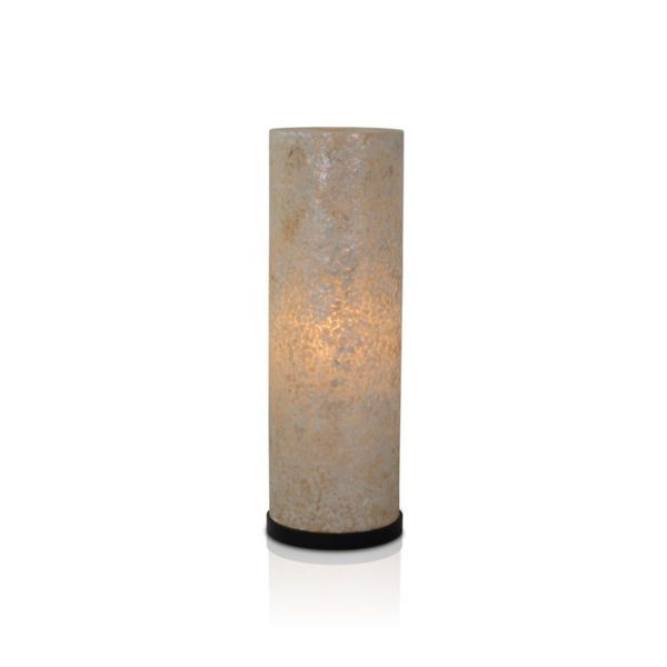 East At Main's Gainesville Modern Geometric Transitional Off-White Indoor Floor Lamp