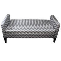 Shop 24 Quot H Geometric Storage Bench Free Shipping Today
