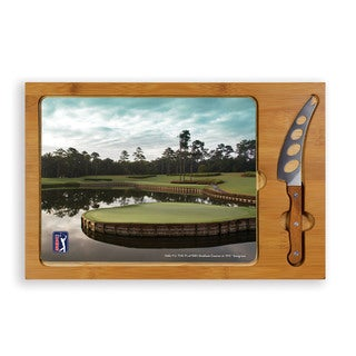Icon - Cheese Serving/Cutting Set PGA Tour-Sawgrass Hole 17 - PGA Tour