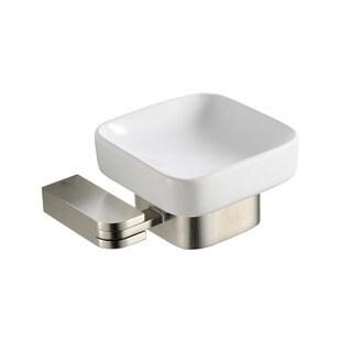 Fresca Solido Soap Dish - Brushed Nickel