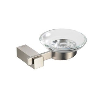 Fresca Ellite Soap Dish - Brushed Nickel