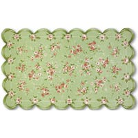 Hand-hooked Emily Cotton Area Rug - 4'7 X 7'7