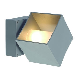 SLV Lighting Square Turn MH Outdoor Wall Lamp