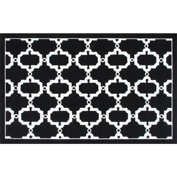 Hand-hooked Hyperion Pp Acrylic Area Rug (5' x 8')