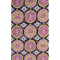 Azzia Pink Area Rug (5' x 7'6')