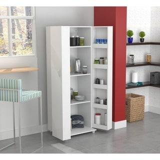 Inval Laricina White Kitchen Storage Cabinet
