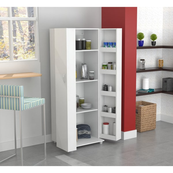 inval laricina white kitchen storage cabinet free shipping today