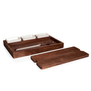 Bruschetta Bread Cutting Board and Spread Set