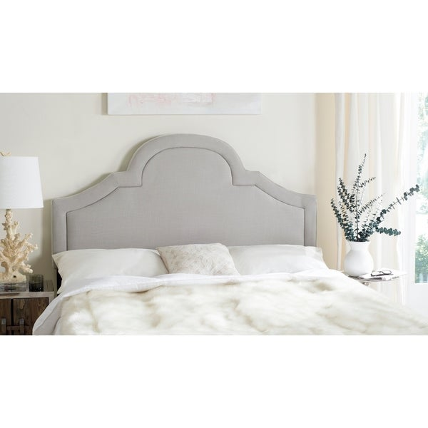 Safavieh Kerstin Arctic Grey Arched Headboard (King). Opens flyout.