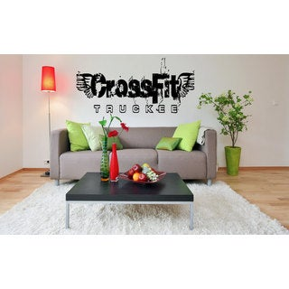 Crossfit Fitness Gym Vinyl Wall Art