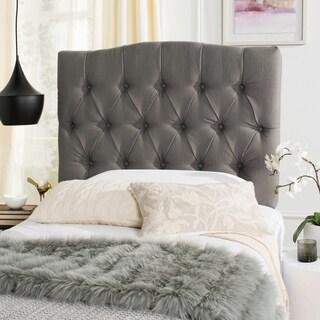 Safavieh Axel Arctic Grey Upholstered Tufted Headboard (Twin)
