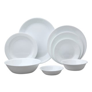 Corelle Livingware 76-Piece Set - Winter Frost White