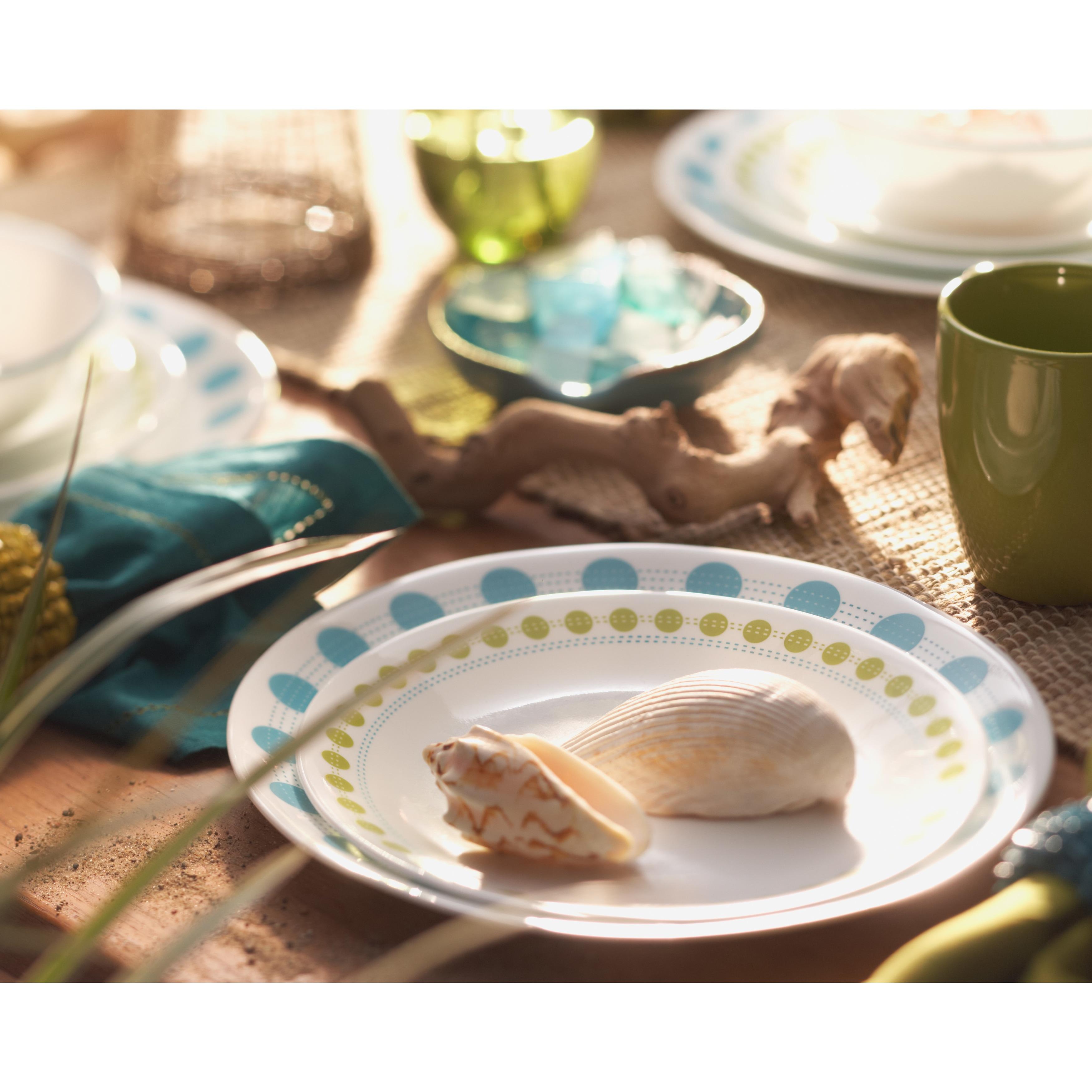 Corelle Livingware South Beach 16-piece Dinnerware Set (W...
