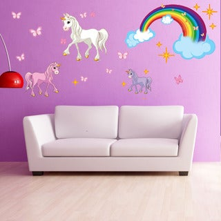 Unicorn Set wall decal