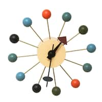 Mod Made Mid-Century Modern Color Bubble Wall Clock