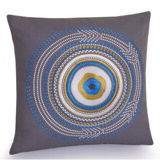 Jovi Home Rimini hand embroidered Decorative Pillow