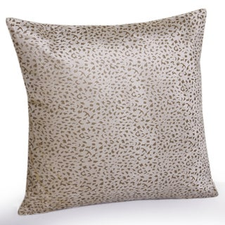 Jovi Home Leopard velvet Decorative Pillow