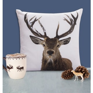 Jovi Home Stag Pillow Decorative Pillow Covers (set of 2)