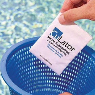 CuLater Swimming Pool Metal Eliminator & Stain Preventer
