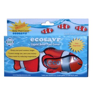 Ecosavr Swimming Pool Liquid Solar Pool Cover Fish