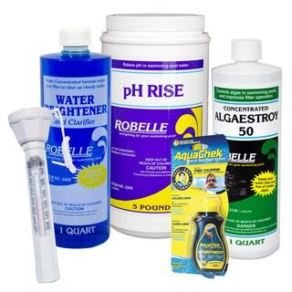 Robelle 5-Pak Pool Start-Up & Maintenance Kit
