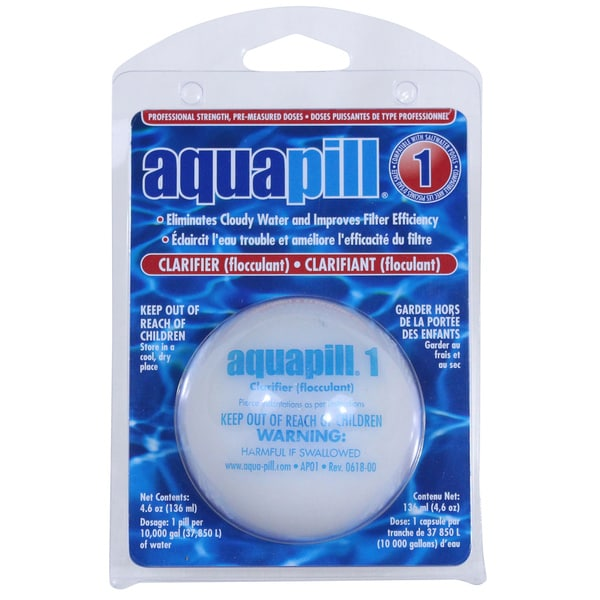 Aquapill Swimming Pool Clarifier Floculant Free Shipping On Orders Over 45 Overstock 17140124