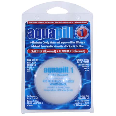 Aquapill Swimming Pool Clarifier Floculant