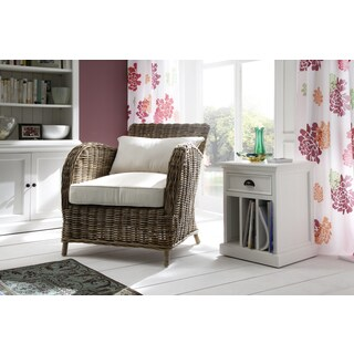 Havenside Home North Bend Armchair with Seat and Back Cushions