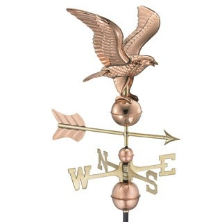 American Eagle Pure Copper Weathervane by Good Directions