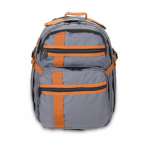 USPeacekeepers INCOG Battleship Grey/ Rust Backpack