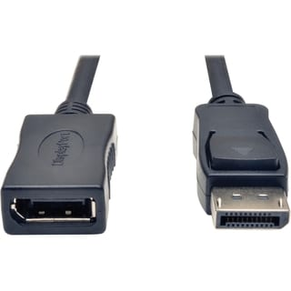 Tripp Lite 6ft DisplayPort Extension Cable with Latches Video / Audio