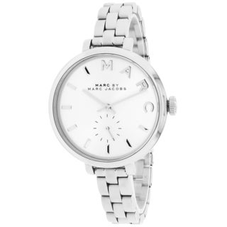 Marc Jacobs Women's MBM3362 Baker Slim Round Silvertone Bracelet Watch