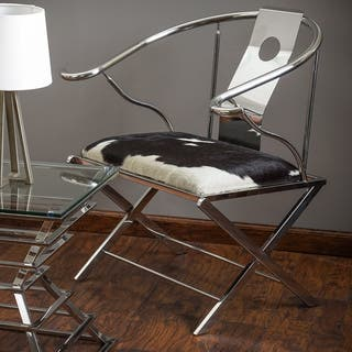 Christopher Knight Home Alice Stainless Steel Arm chair|https://ak1.ostkcdn.com/images/products/9990441/P17140890.jpg?impolicy=medium
