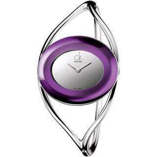 Calvin Klein Women's K1A24656 'Delight' Stainless Steel Watch