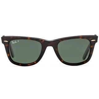 Ray Ban Unisex RB 2140 Original Wayfarer 902/58 Havana Plastic Polarized 50mm Sunglasses