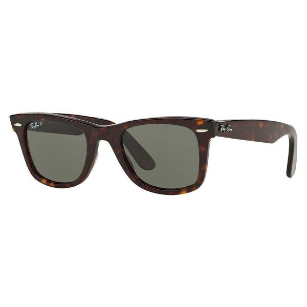 295f812253fcc Ray Ban Unisex RB 2140 Original Wayfarer 902 58 Havana Plastic Polarized  50mm Sunglasses
