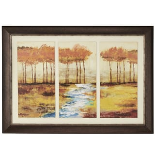 Gracious Landscape Framed Tri-mounted Giclee Print Wall Art