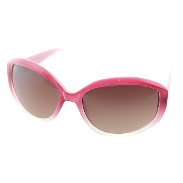 4a807398c7 Cole Haan Womens C 617 70 Tango Red Plastic Oval Fashion Sunglasses