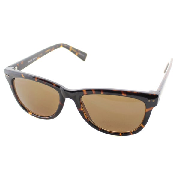9a4c2a7499 Cole Haan Womens C 6069 21 Dark Tortoise Plastic Rectangle Sunglasses