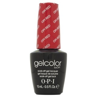 OPI GelColor Red