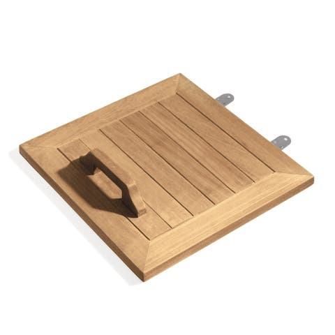 Oxford Garden Hinged Lid Accessory for Trash Receptacle