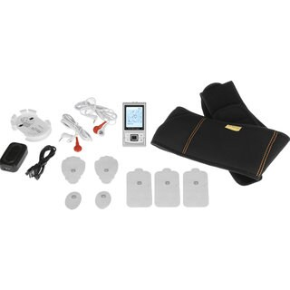 PCH Digital Pulse Massager 3 AB Belt Combo Set
